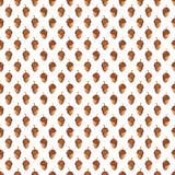 Modèle sans couture d'automne coloré fait de main Photos stock