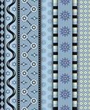 Modèle sans couture d'hiver Image stock