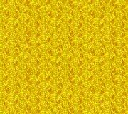 Modèle sans couture d'or japonais de vecteur, ornement de vagues illustration libre de droits