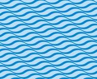 Modèle sans couture d'ondulation illustration stock