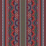 Modèle sans couture d'origine ethnique tribale Images stock