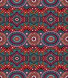 Modèle sans couture d'origine ethnique tribale Photographie stock