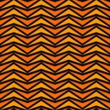 Modèle sans couture dans des couleurs traditionnelles de Halloween Abrégé sur stylisé orange mosaïque de triangles sur le fond no illustration stock