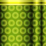 Modèle sans couture dans des tons verts illustration de vecteur