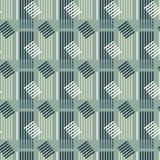 Modèle sans couture de bâtiment symétrique vertical illustration stock