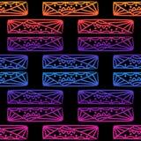 Modèle sans couture de beads-11 illustration de vecteur
