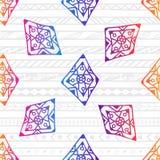 Modèle sans couture de beads-04 illustration de vecteur