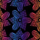 Modèle sans couture de beads-12 illustration stock