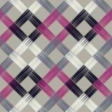 Modèle sans couture de boho ethnique Couvre-tapis asiatique Texture de griffonnage Motif folklorique illustration de vecteur