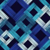 Modèle sans couture de boho ethnique Couvre-tapis asiatique Texture de griffonnage Motif folklorique illustration libre de droits