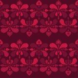 Modèle sans couture de boho ethnique Drapeau des fleurs Background Texture de griffonnage Broderie sur le tissu Motif folklorique illustration stock