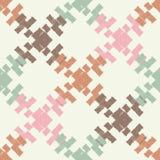 Modèle sans couture de boho ethnique Ornement traditionnel Fond géométrique Configuration tribale Motif folklorique Photographie stock