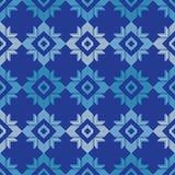 Modèle sans couture de boho ethnique Ornement traditionnel Fond géométrique Configuration tribale Motif folklorique Photos libres de droits