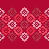 Modèle sans couture de boho ethnique Ornement traditionnel Fond géométrique Configuration tribale Motif folklorique Image libre de droits