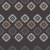 Modèle sans couture de boho ethnique Ornement traditionnel Fond géométrique Configuration tribale Motif folklorique Photos stock