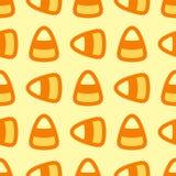 Modèle sans couture de bonbons au maïs mignons illustration stock