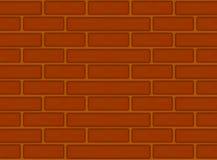 Modèle sans couture de briques de Brown Images stock