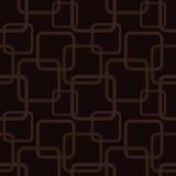 Modèle sans couture de Brown avec des places illustration libre de droits