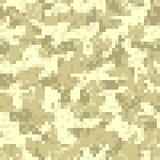 Modèle sans couture de camouflage de chiffre de désert illustration libre de droits