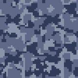 Modèle sans couture de camouflage de pixel de Digital pour votre conception Photos libres de droits