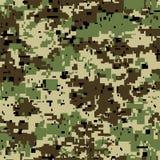 Modèle sans couture de camouflage de pixel de Digital pour votre conception Texture de vecteur Photo libre de droits