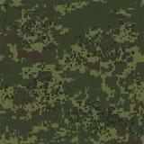 Modèle sans couture de camouflage de pixel de Digital pour votre conception Texture de vecteur Photo stock
