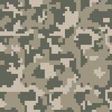 Modèle sans couture de camouflage de vert de pixel de Digital pour votre conception Les militaires d'habillement dénomment Photos libres de droits