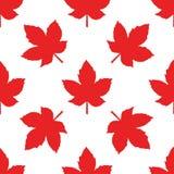 Modèle sans couture de Canada Image libre de droits