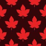 Modèle sans couture de Canada Photos stock