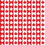Modèle sans couture de Canada Jour heureux du Canada Illustration de Vecteur