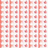 Modèle sans couture de Canada Jour heureux du Canada Illustration Libre de Droits