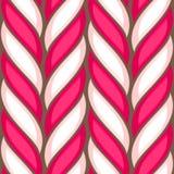 Modèle sans couture de canne de sucrerie Photo libre de droits