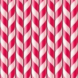 Modèle sans couture de canne de sucrerie Photo stock