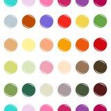 Modèle sans couture de cercle coloré Photographie stock libre de droits