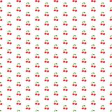 Modèle sans couture de cerises minuscules illustration libre de droits