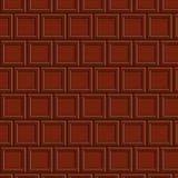 Modèle sans couture de Chocolat Image stock