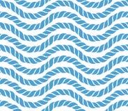 Modèle sans couture de corde Photo stock