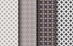 Modèle sans couture de couleur de Brown Concept de luxe Image libre de droits