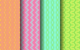 Modèle sans couture de couleur lumineuse Conception graphique Image libre de droits