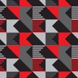 Modèle sans couture de coupe diagonale illustration libre de droits