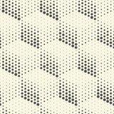 Modèle sans couture de cube Fond de emballage abstrait Vecteur Regu Photographie stock libre de droits