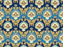 Modèle sans couture de Damaskus Images stock
