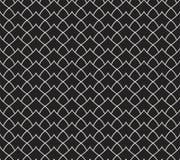 Modèle sans couture de damassé de feuille de vecteur Fond abstrait élégant d'Art nouveau Texture classique de motif de fleur Illustration de Vecteur