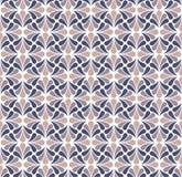Modèle sans couture de damassé florale de vecteur Fond abstrait élégant d'Art nouveau Texture classique de motif de fleur Illustration Libre de Droits