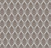 Modèle sans couture de dentelle blanche abstraite sur l'obscurité illustration stock