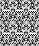 Modèle sans couture de dentelle Image stock