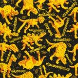 Modèle sans couture de Dinosaurus pour la conception urbaine de garçons illustration de vecteur