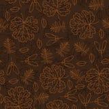Modèle sans couture de feuille d'automne Image stock