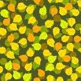 Modèle sans couture de feuilles d'automne Image stock