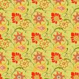 Modèle sans couture de fleur - illustration Photo stock